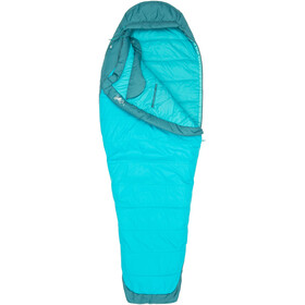 Marmot Trestles Elite 30 Sleeping Bag Women Long Sea Green/Sea Scape